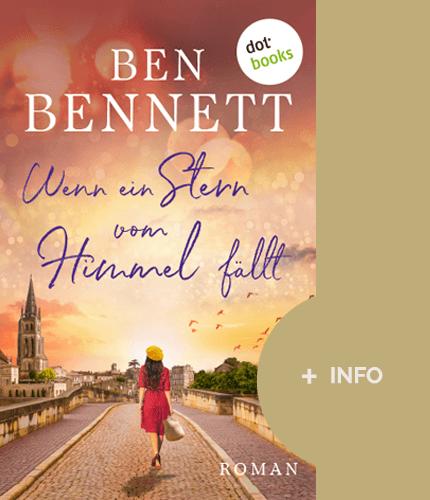 Ben Bennett - Schriftsteller - Buch cover - Wenn ein Stern vom Himmel fällt