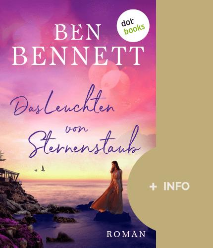 Ben Bennett - Schriftsteller - Buch cover - Leuchten von Sternstaub